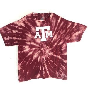 Texas A&M tiedye T-shirt